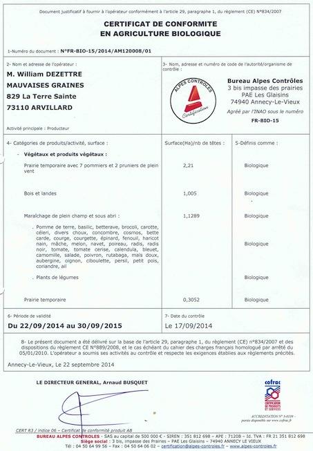 certif 2014